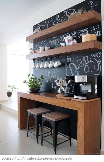 idees pour creer  coin  ou cafe  la maison