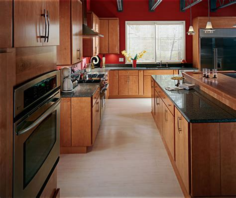 kitchen cabinets cherry finish cider maple cabinet finish cabinetry 5956