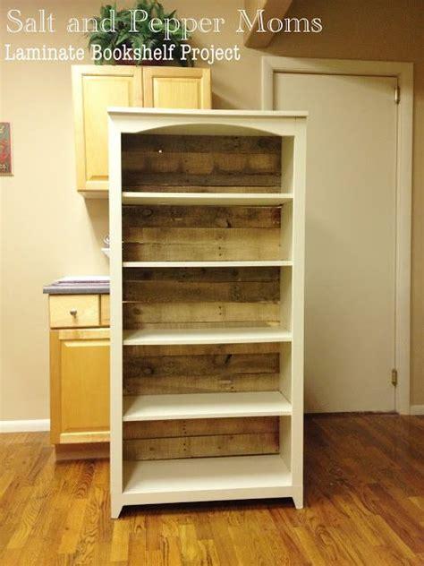 laminate bookshelf makeover bookshelf makeover diy