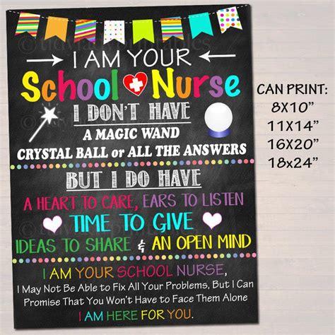 school nurse office decor    school nurse sign