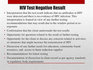 Pre and post HIV counseling (VCT)
