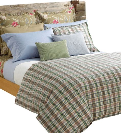 Madras Duvet by Ralph Boathouse Madras Plaid 10pc King Duvet