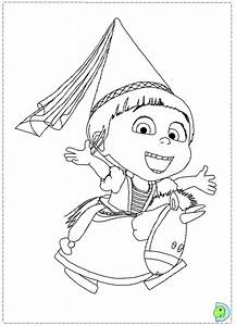 Despicable Me Coloring Pages - Bestofcoloring.com