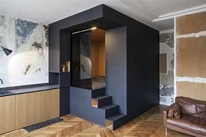 Amenagement Petite Surface : conseils pour cloisonner l espace dans un studio la mini ~ Melissatoandfro.com Idées de Décoration