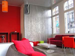 Decoration Peinture : dcoration murale design peinture ~ Nature-et-papiers.com Idées de Décoration