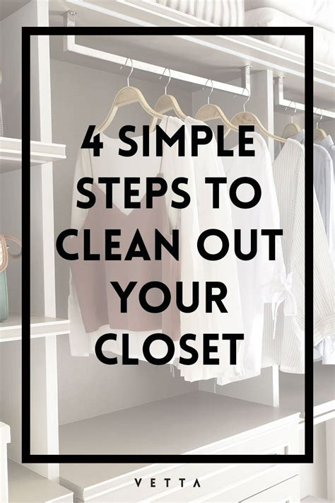 Cleaning Out Closet by 4 Simple Steps To Cleaning Out Your Closet Vetta