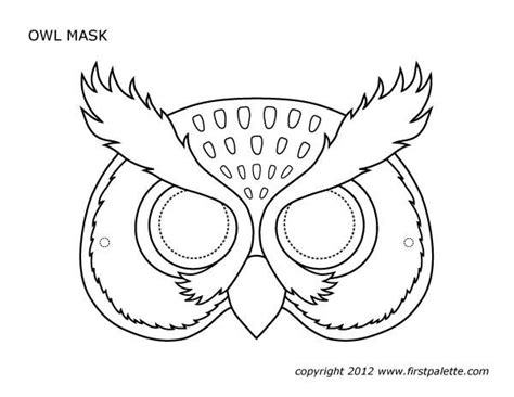 printable mask template 110 best masky klobouky kost 253 my images on carnivals for and education
