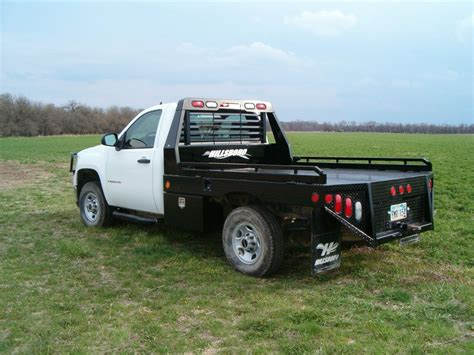 truck bed gii steel truck beds hillsboro trailers and truckbeds