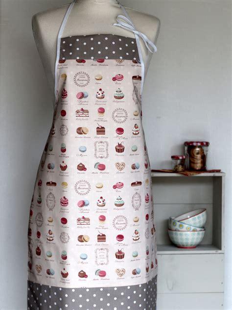 tablier de cuisine femme original tablier femme pâtisseries creacoton