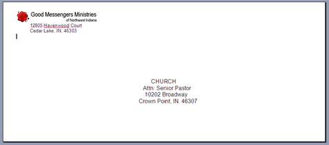 letter format envelope apartment formal letter template