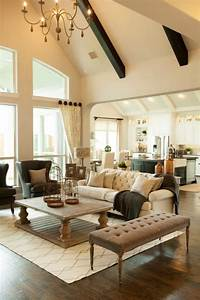 15 classy traditional living room designs for your home for Traditional living room design