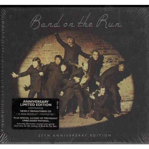 Band On The Run  25th Anniversary Edition By Paul Mccartney & Wings, Cd X 2 With Erecord
