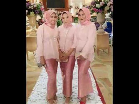 model kebaya modern hijab terbaru  youtube