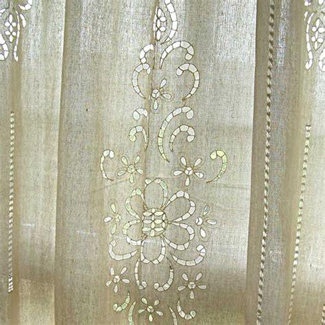 crochet curtains crochet curtain