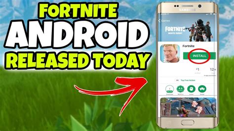 fortnite mobile android  release today fortnite