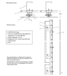 china aluminum composite panels fixing accessories china aluminum composite panel
