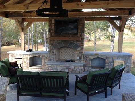 outdoor fireplaces pits outdoor