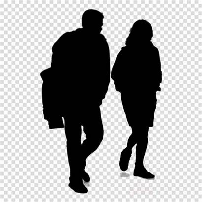 Human Silhouette Walking Clipart Humans Transparent Tooth