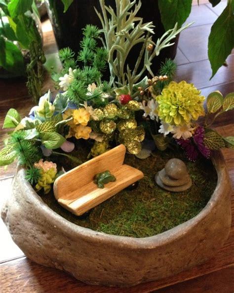 Indoor Fairy Garden  Gardening Pinterest