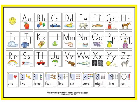 print letter number poster learning  tears