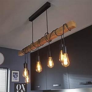 Suspension Pour Cuisine Moderne : lustre cuisine suspension luminaire bleu marchesurmesyeux ~ Teatrodelosmanantiales.com Idées de Décoration