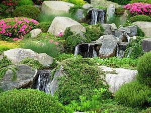 Bachlauf Aus Stein : steingarten mit bachlauf die besten tipps f r planung und umsetzung ~ Michelbontemps.com Haus und Dekorationen