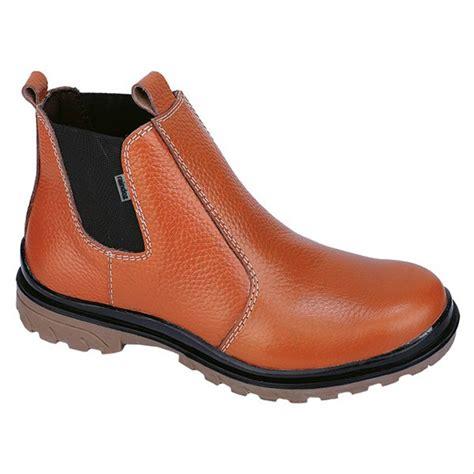 jual sepatu safety kulit boots pria original di lapak excellent production raindozoriginal