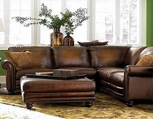 Great distressed leather sectional sofa with rustic for Distressed leather sectional sofa with chaise