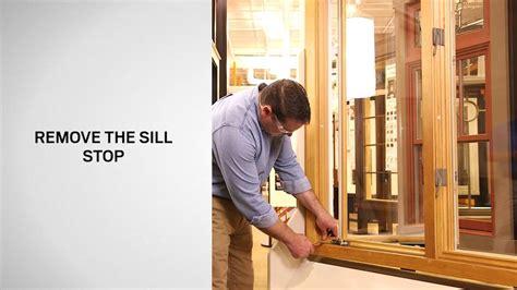 operator replacement  andersen primed wood casement windows   youtube