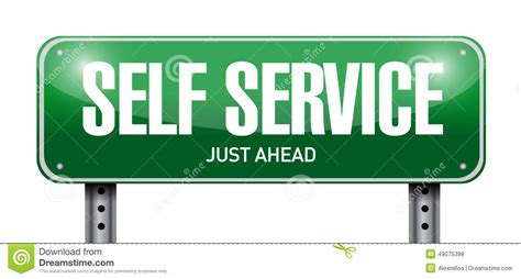 Self Service Road Sign Illustration Design Stock. Computer Store Logo. Norse Signs Of Stroke. Large Advertising Banners. Label Prints Stickers. Homemade Signs. Bucket Signs Of Stroke. Crisis Murals. Choc Logo