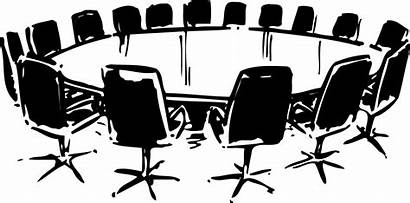 Icon Meetings Conferences Meeting Table Virtual Open
