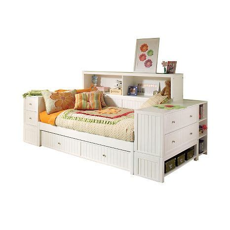 Daybed With Bookcase And Trundle by Hillsdale Furniture Youth Bedroom Bookcase Daybed