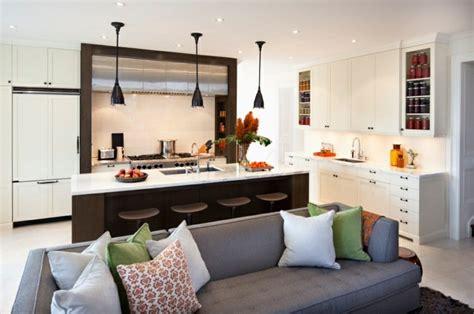 idee cuisine petit espace deco petit salon avec cuisine ouverte