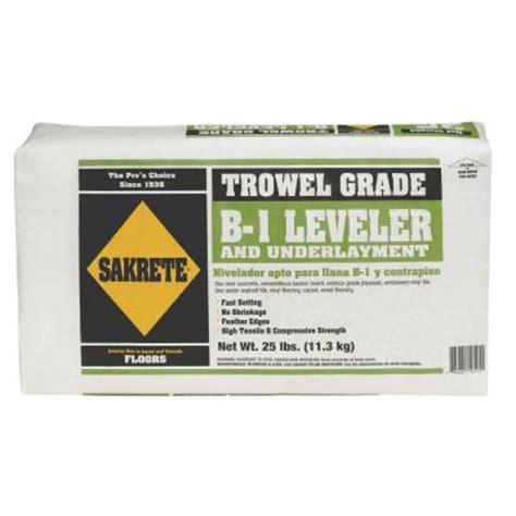 Floor Leveler Home Depot by Sakrete 25 Lb B 1 Leveler 65550060 The Home Depot