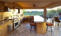 interesting tuscan outdoor kitchen style 20 Gorgeous Poolside Outdoor Kitchen Designs