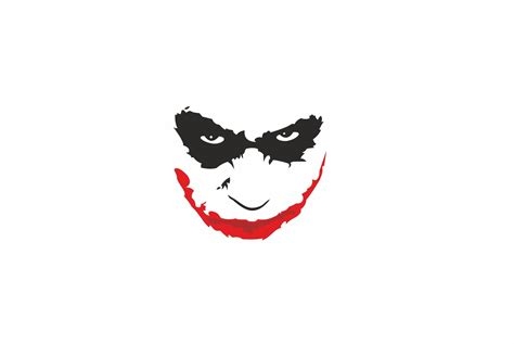 Abstract Joker Wallpaper by Joker Black Abstract Batman Minimalism