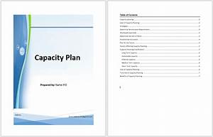 capacity plan template microsoft word templates With capacity management plan template