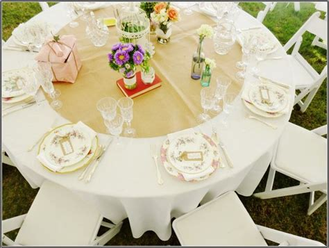 diy table runners for round tables could we make a round