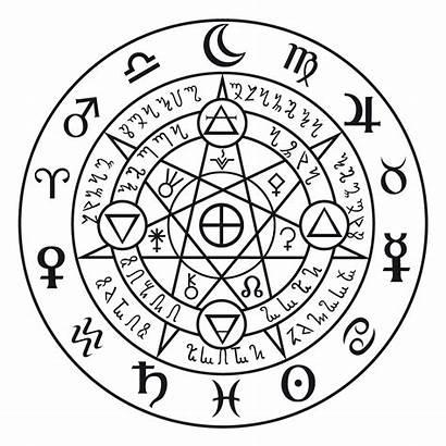 Magic Circle Symbol Astral Runic Tattoo Myself