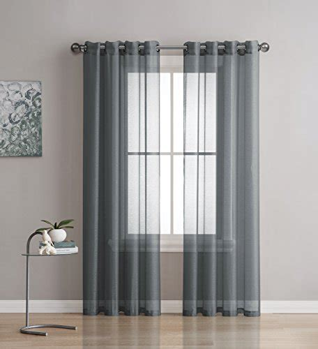 sheer curtains  bedroom amazoncom
