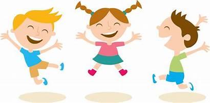 Clipart Cartoon Jumping Sociales Kid Valores Transparent
