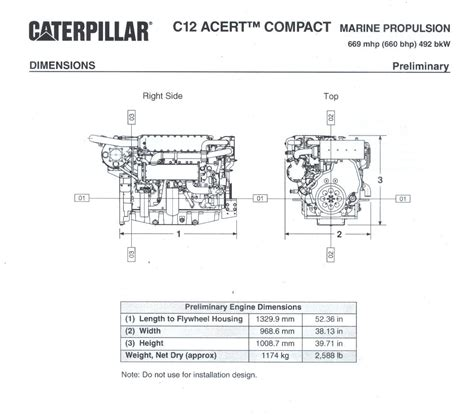 Collection Caterpillar Marine Engine Wiring
