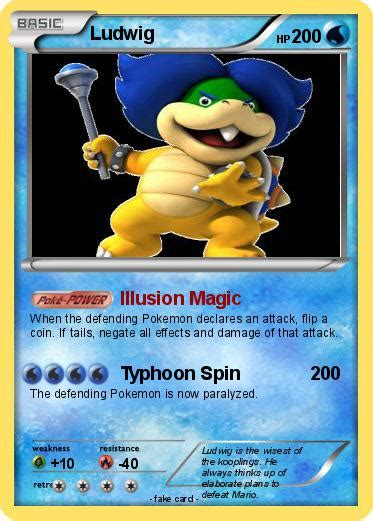 pokemon ludwig   illusion magic  pokemon card