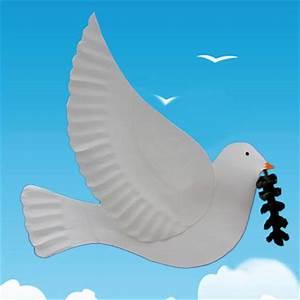 Peace Dove Animaplates
