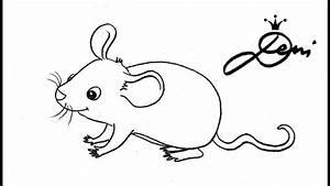 Wie Fängt Man Eine Maus : maus schnell zeichnen lernen f r kinder how to draw a mouse for kids ~ Markanthonyermac.com Haus und Dekorationen