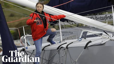 Greta Thunberg Sailboat
