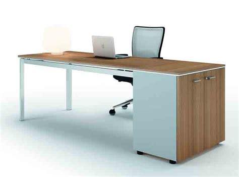 bureau 160 cm x4 bureau 160 cm avec armoire basse noyer