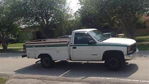 98 Chevy 2500 Tool Box Truck With Hydraulic Liftgate For