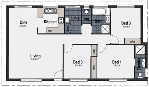bed house plans  home designs wide bay homes hervey bay