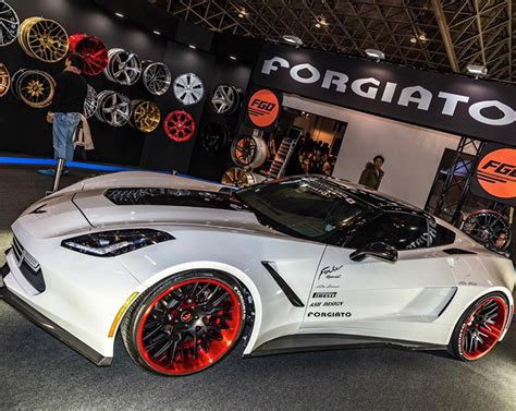 chevrolet corvette  widebody forgiato fratello ecl